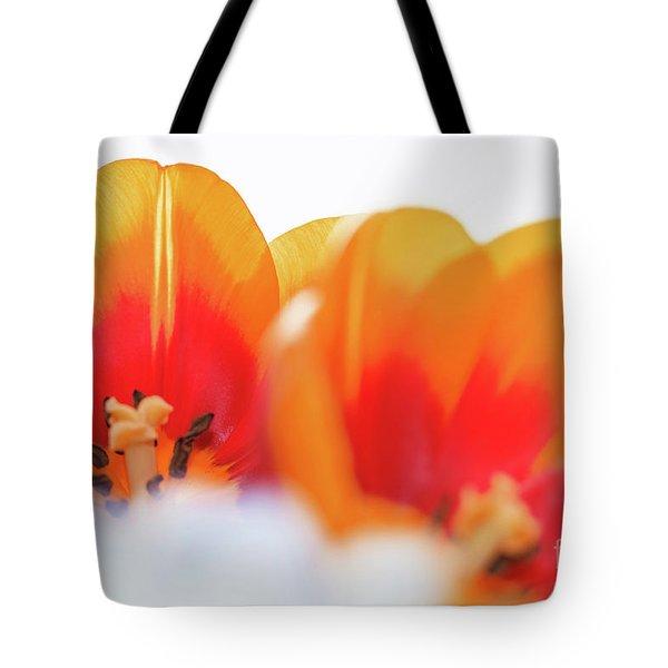 Spring Breeze Tote Bag by Afrodita Ellerman