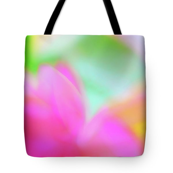 Tote Bag featuring the photograph Spring Brights by Menega Sabidussi