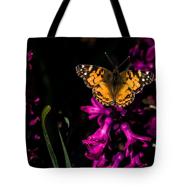 Spring Butterfly Tote Bag
