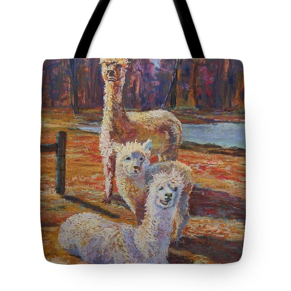 Spring Celebration - Mothers And Child Tote Bag by Alicia Drakiotes