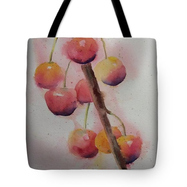 Spring Cherries Tote Bag