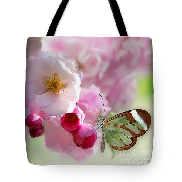 Spring Cherry Blossom Tote Bag