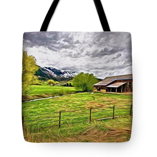 Spring Coming To Life Tote Bag by James Steele