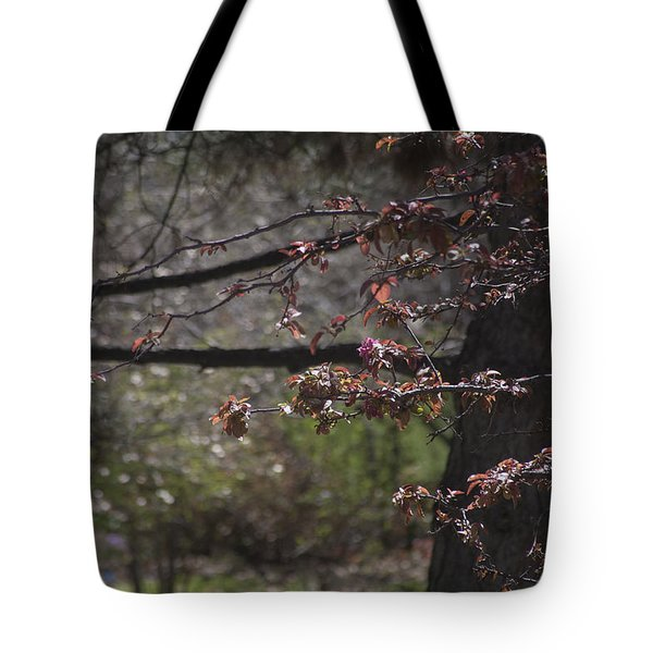Spring Crabapple Tote Bag