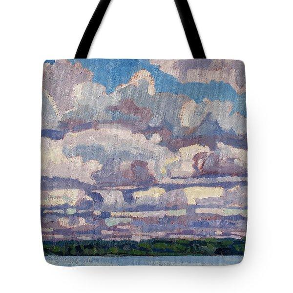 Spring Cumulus Tote Bag