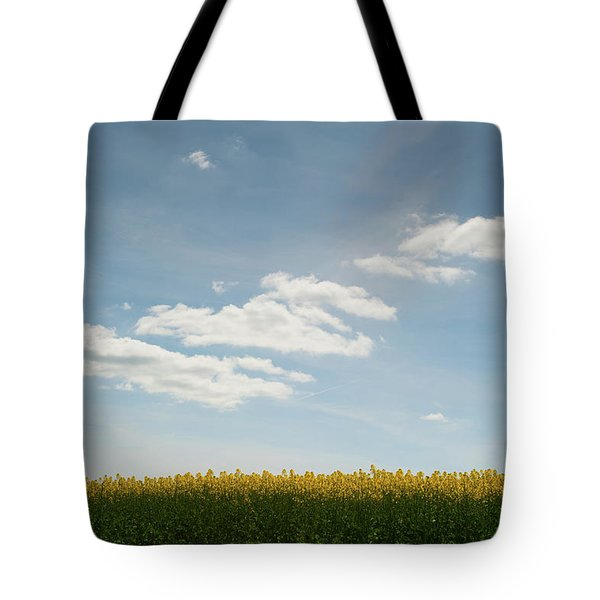 Spring Day Clouds Tote Bag