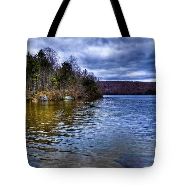 Spring Day On Limekiln Tote Bag by David Patterson