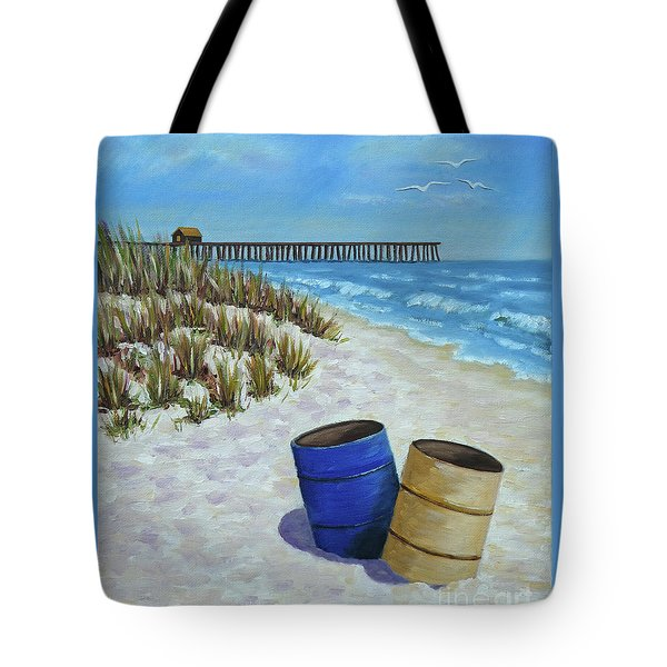 Spring Day On The Beach Tote Bag