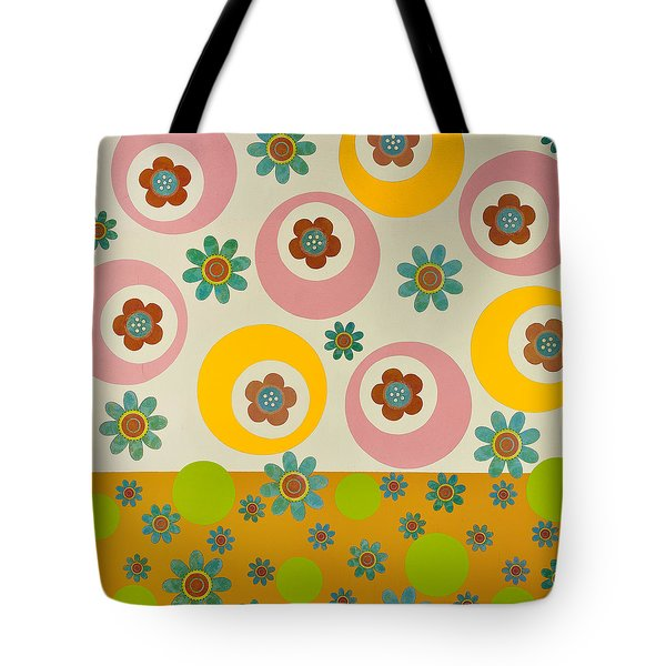 Tote Bag featuring the mixed media Spring Delight by Gloria Rothrock