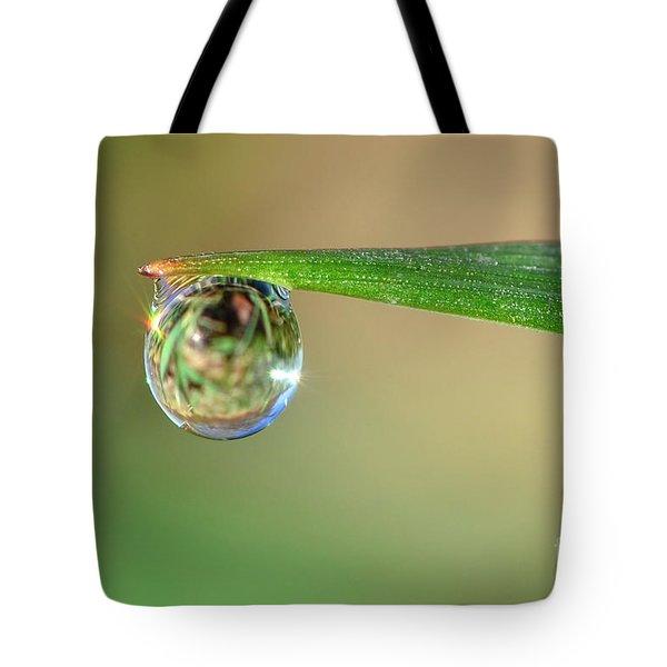 Spring Dew Tote Bag