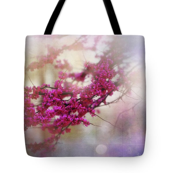 Tote Bag featuring the photograph Spring Dreams II by Toni Hopper