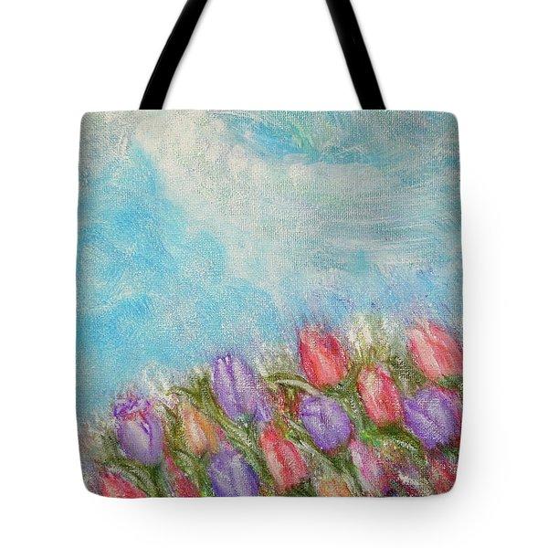 Spring Emerging Tote Bag