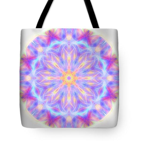 Spring Energy Mandala 3 Tote Bag