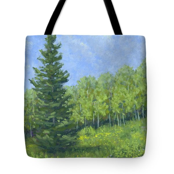 Spring Evergreen Tote Bag