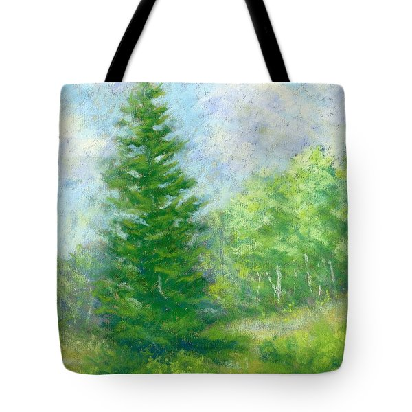 Spring Evergreen Study Tote Bag
