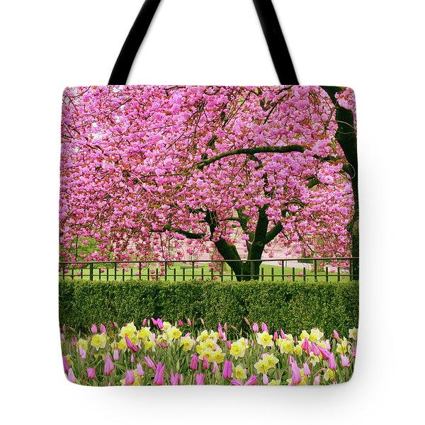 Tote Bag featuring the photograph Spring Extravaganza by Jessica Jenney