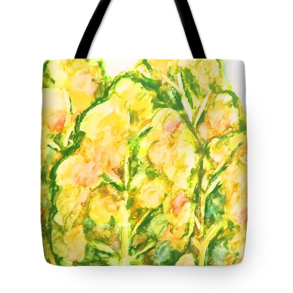 Spring Fantasy Foliage Tote Bag