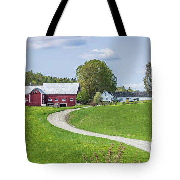 Spring Farm Tote Bag by Tim Kirchoff