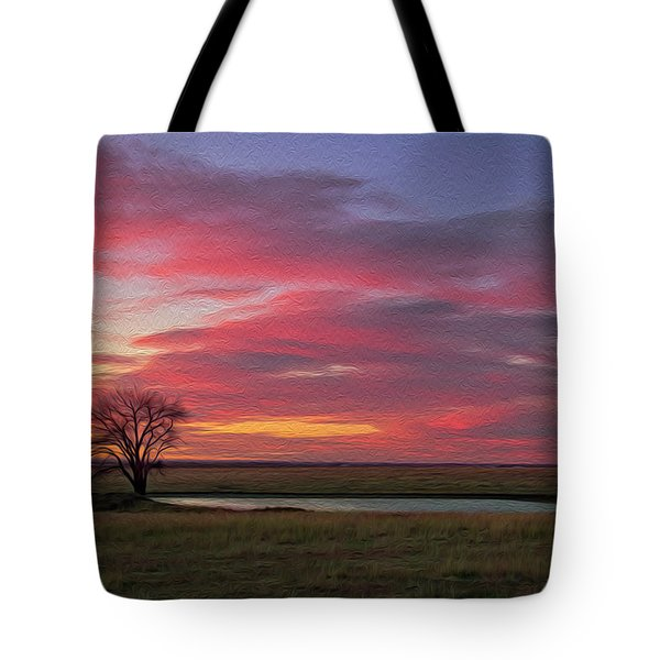 Spring Fed Peace Tote Bag