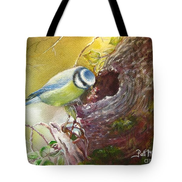 Spring Feeding Tote Bag
