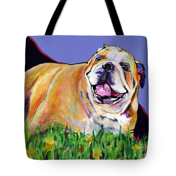 Spring Fever Tote Bag by Pat Saunders-White