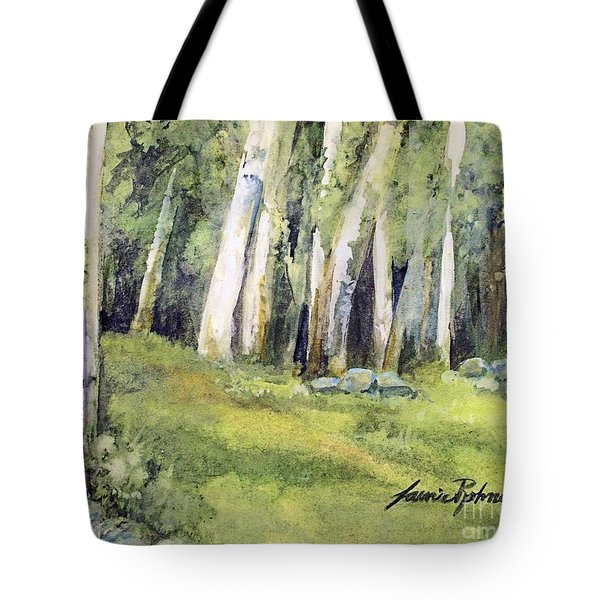 Spring Field Tote Bag by Laurie Rohner