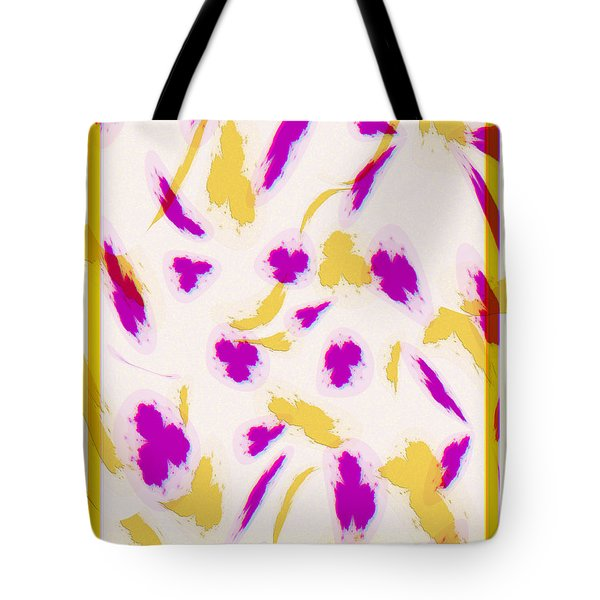 Tote Bag featuring the digital art Spring Fling by Kae Cheatham
