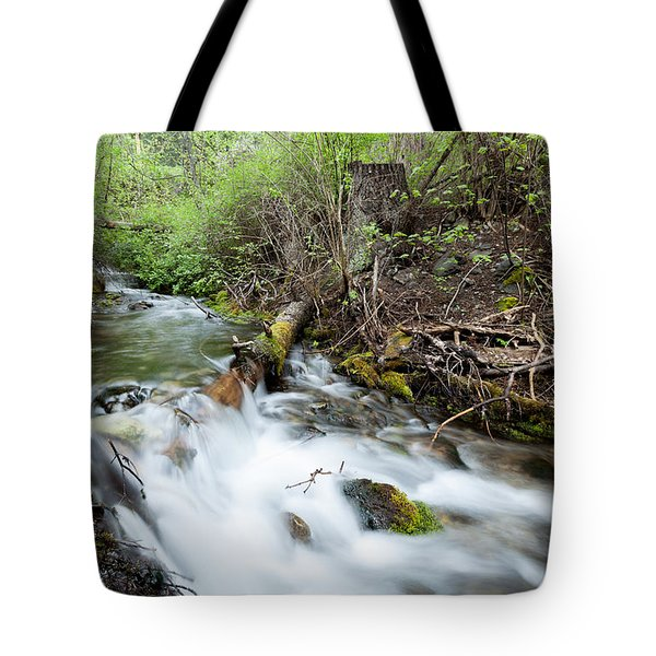 Tote Bag featuring the photograph Spring Flow by Fran Riley