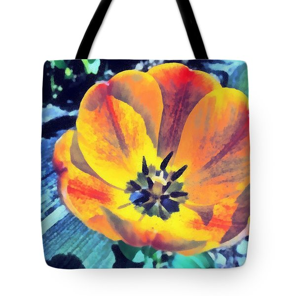 Tote Bag featuring the photograph Spring Flower Bloom by Derek Gedney