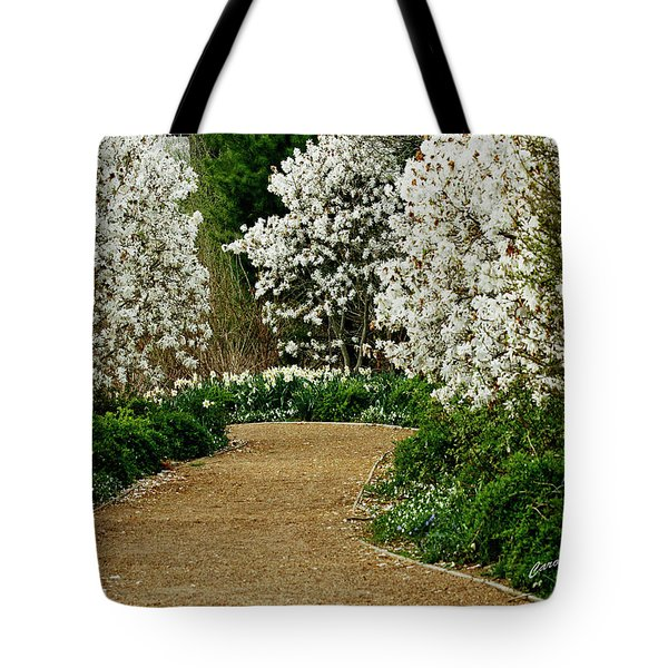 Spring Flowering Trees Wall Art Tote Bag