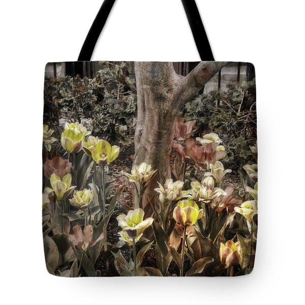 Tote Bag featuring the photograph Spring Flowers by Joann Vitali