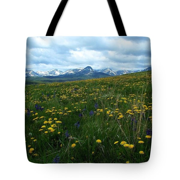 Spring Flowers On The Front Tote Bag