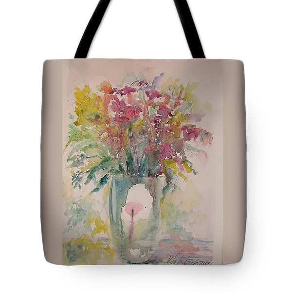 Spring Flowers Tote Bag by Rita Fetisov
