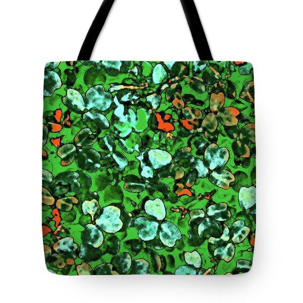 Spring Foiliage Tote Bag