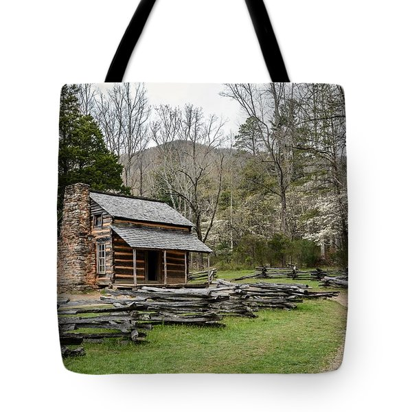 Spring For The Settlers Tote Bag by Debbie Green