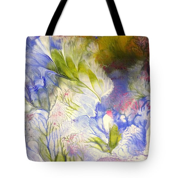 Spring Tote Bag by Fred Wilson