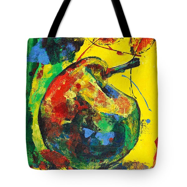Spring Freshness With Autumn Pear Tote Bag