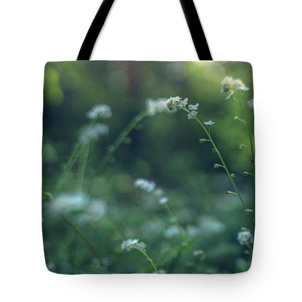 Spring Garden Scene #1 Tote Bag
