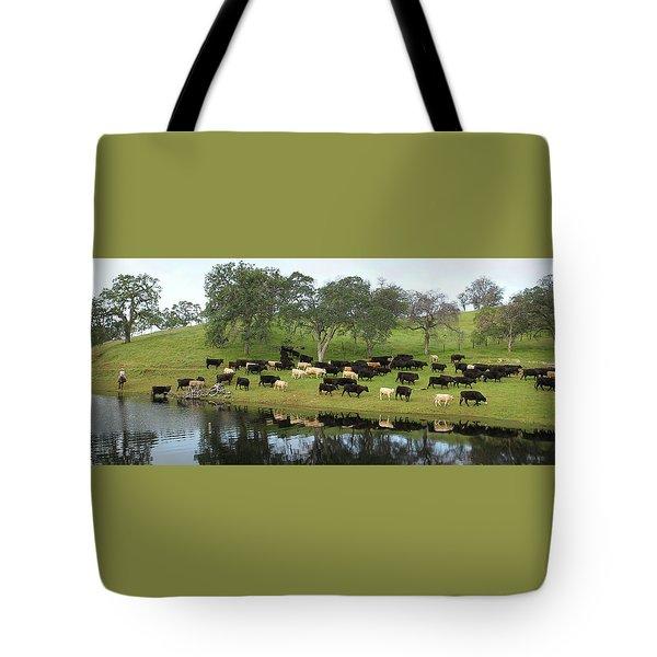 Spring Gather Tote Bag