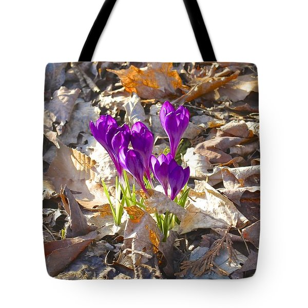 Spring Gathering Tote Bag