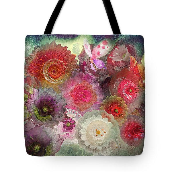 Tote Bag featuring the photograph Spring Glass by Jeff Burgess