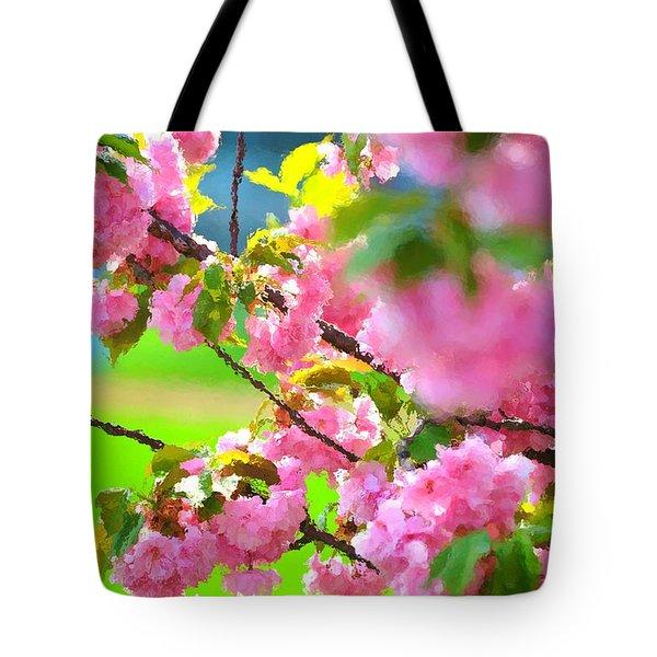 Spring Glory Tote Bag
