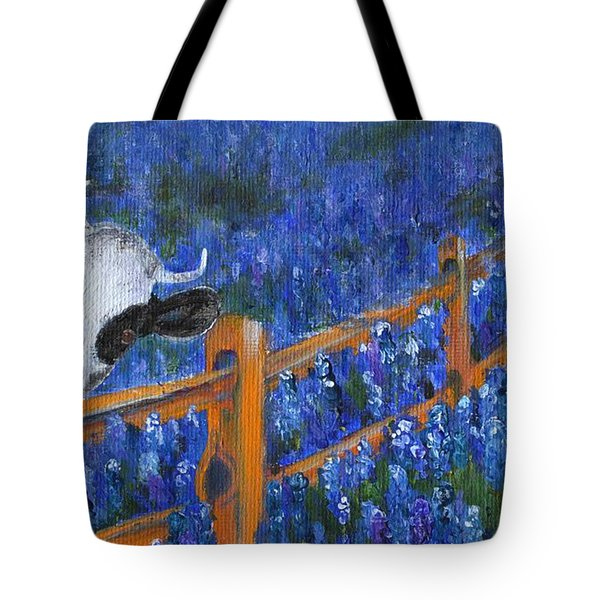 Tote Bag featuring the painting Spring Has Sprung by Jamie Frier