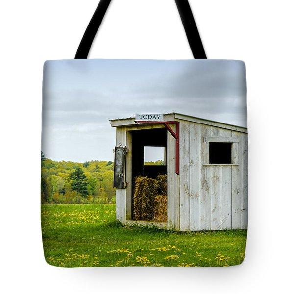 Spring Hay Tote Bag
