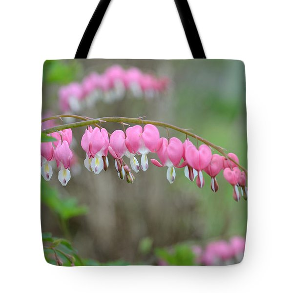 Spring Hearts Tote Bag