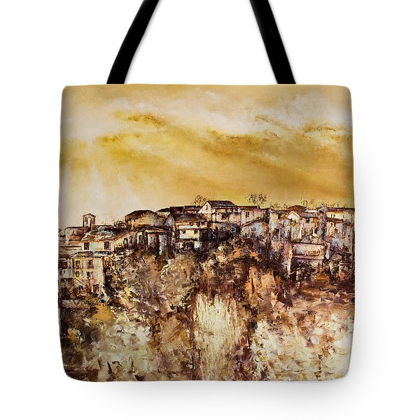 Spring Heat Tote Bag
