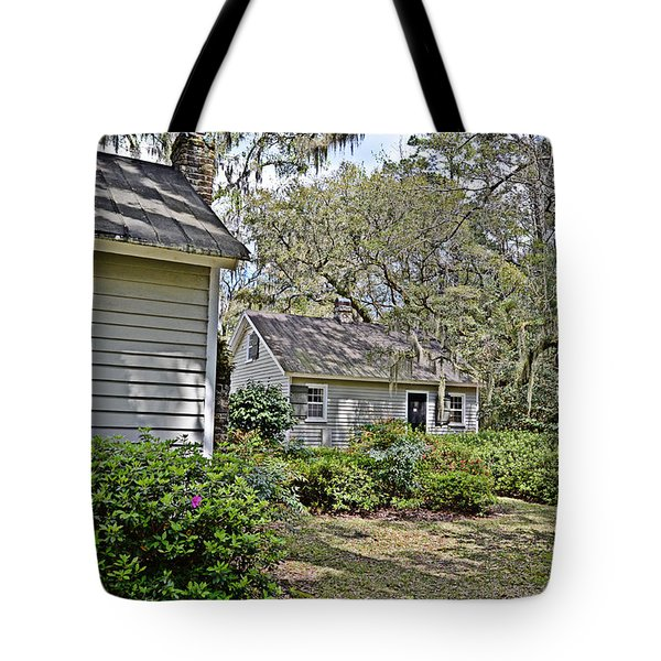 Spring Hideaway Tote Bag by Linda Brown