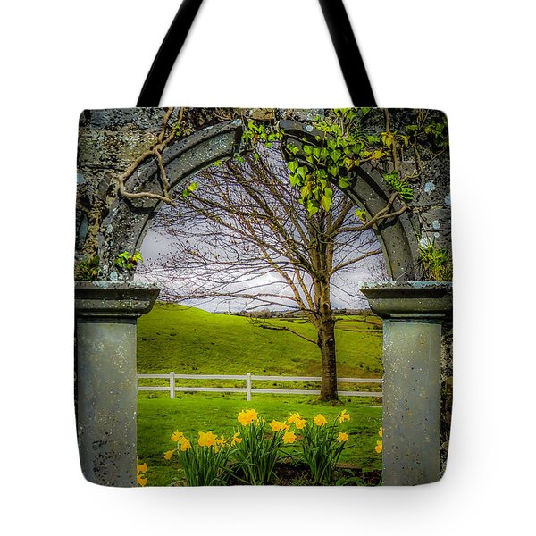Tote Bag featuring the photograph  Spring In Ballynacally, County Clare by James Truett