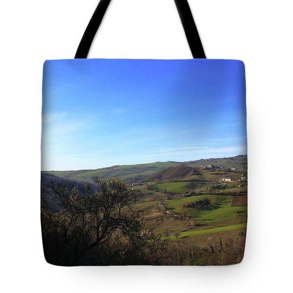 Spring In Casacalenda Tote Bag