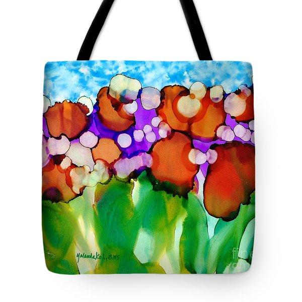 Spring In Charleston Tote Bag by Yolanda Koh
